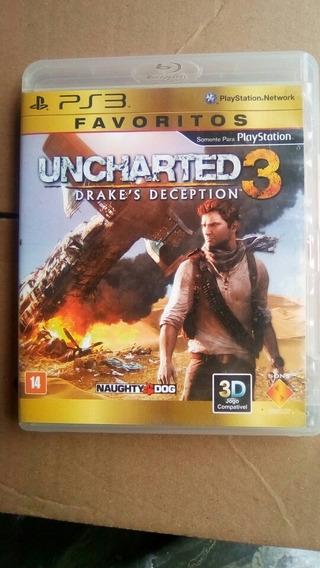 Games Ps3 Uncharted 3 Usado.
