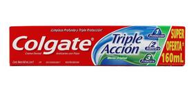 Pasta Dental Colgate Triple Accion 160 Ml