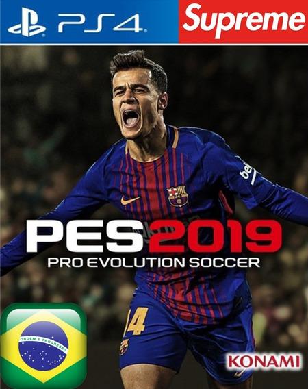 Pes 19 2019 - Ps4 - Original 1 Mídia Digital Português