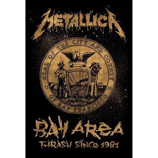 Placa - Quadro - Decorativo - Metallica - (v244)