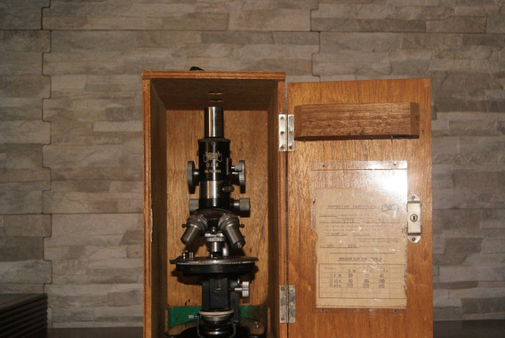 Microscópio Da Yashima Tókio N° De Serie 744044