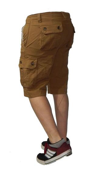 Bermuda Cargo Shorts Reforsadas Talles 38 Al 62 Jeans710