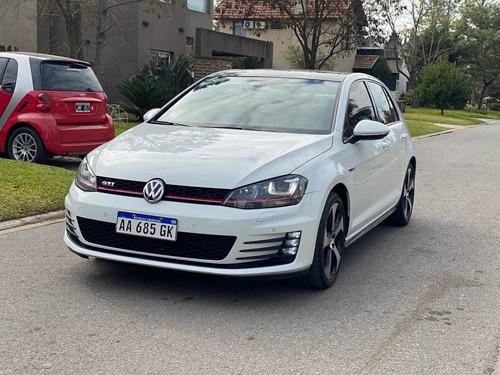 Imagen 1 de 15 de Volkswagen Golf 2016 2.0 Gti Tsi App Connect + Cuero