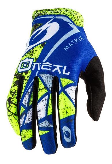 Guantes Moto Oneal Matrix Mx Motocross Enduro Atv Mtb Downhi