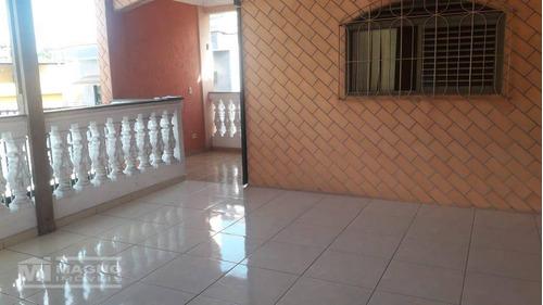 Lindo Sobrado Com Terraço E Churrasqueira A Venda Em São Miguel Paulista - So2084