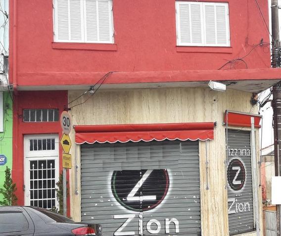 Predio Comercial Com Sala, 2 Casas, 1 Salão E 1 Garagem. - Pr0269