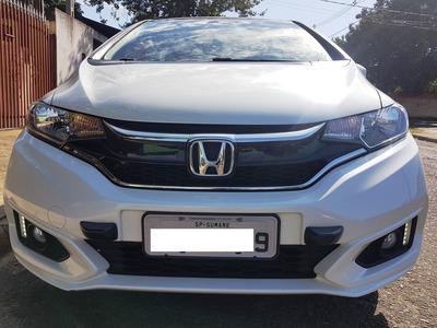 Honda Fit 2018 Cvt Ldr Branco Perola - Lindo!!