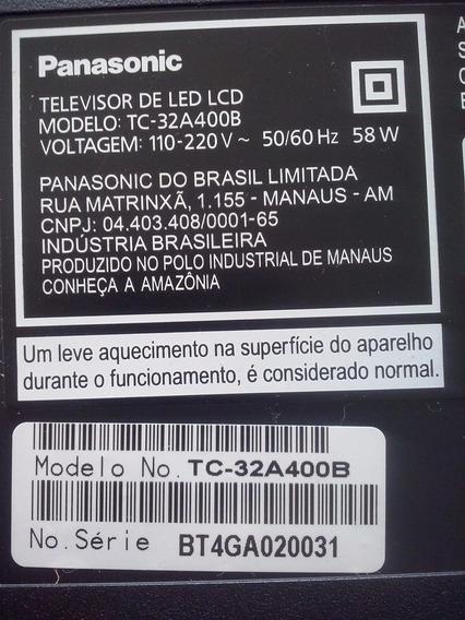 Placa Fonte Tv Panasonic Mod Tc-32a400b