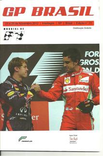 Revista Gp Brasil De F1-mundial De F1 2012 Número 23