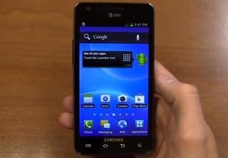 Samsung S2 At&at Color Negro