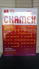Papel A4 500 Folhas Chamex