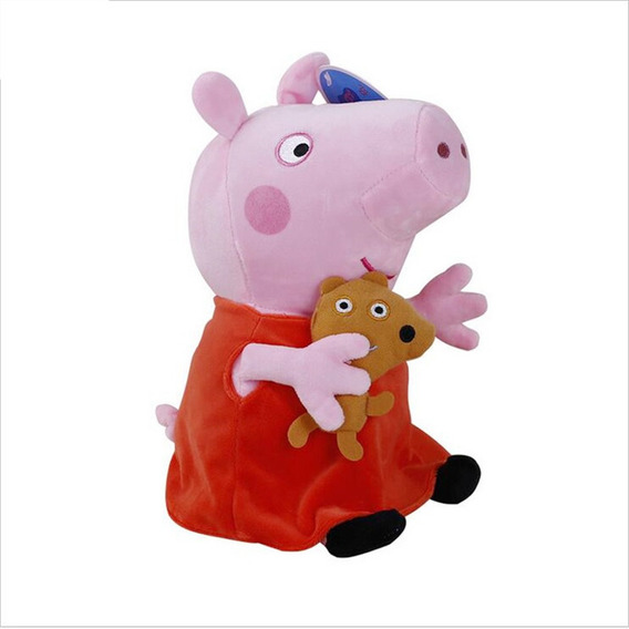 Peppa-pig George Doll Peluche Familia De Dibujos Animados