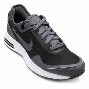 Tênis Nike Air Max Lb Canvas Masculino - Cinza E Preto