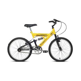 Bicicleta Infantil Aro 20 Eagle Amarelo E Preto Verden Bikes