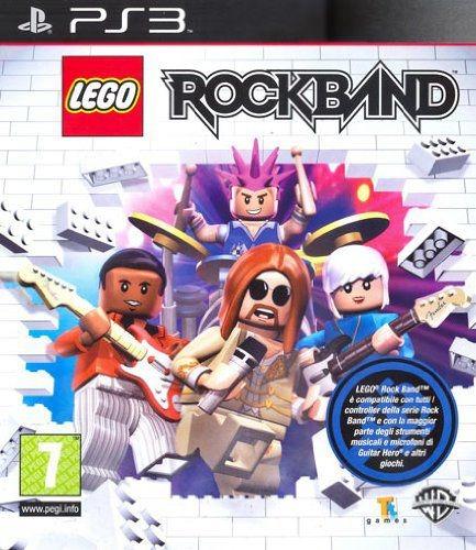 Jogo Lego Rockband Playstation 3 Midia Fisica Ps3