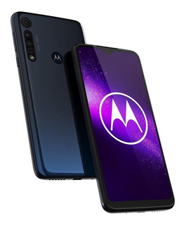 Celular Motorola Moto One Macro 64gb Câmera Tripla Azul
