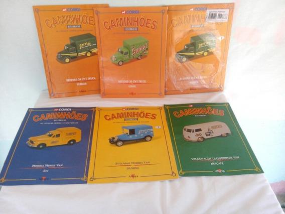 Fascículos Revistas Caminhões Históricos Corgi Altaya
