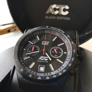 Reloj Caterpillar Actc Cronografo Black Edición Sumergible