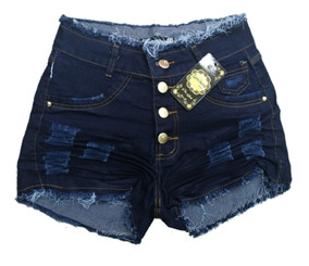 Shorts Jeans Feminino Plus Size Com Lycra 36 Ao 58