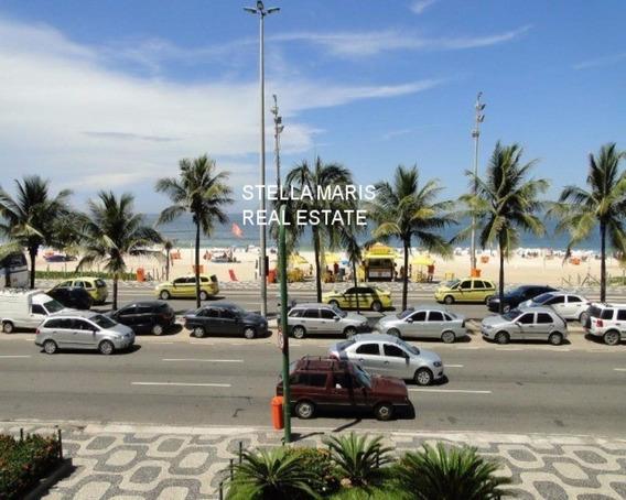 Ipanema, Av. Vieira Souto, 260 M2, Frente Para O Mar, Apto 4 Suites, Reformado, Impecável - Ap-ip-048
