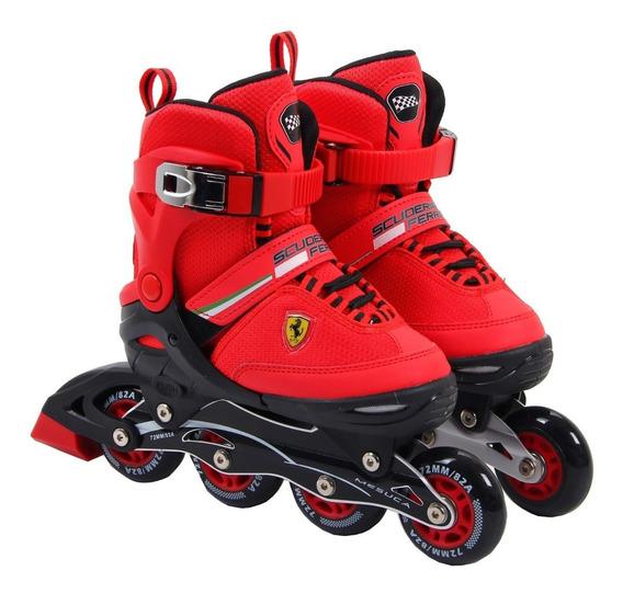 Rollers Para Niños Ferrari Fk16 Talle Extensible