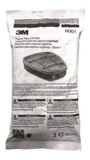 Filtro Organico 3m 6001 3 Pack (6 Unidades)