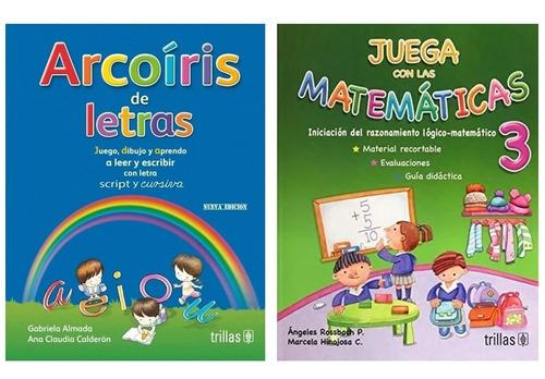 Imagen 1 de 3 de Arcoíris De Letras + Juega Con Las Matemáticas 3 Trillas