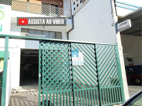 Sl0032-salão Para Alugar, 110 M² Por R$ 3.800/mês - Jardim Das Flores - Osasco/sp - Sl0032