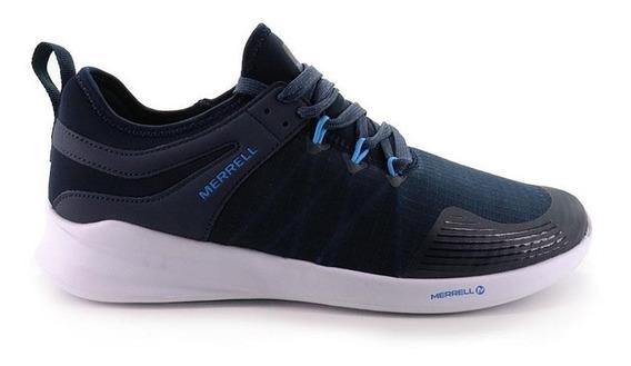 Zapatillas Hombre Merrell Cailun Azul Ultraliviana Sport