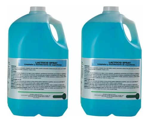 Imagen 1 de 8 de Desinfectante Sanitizante 100% Natural Multiusos, 4ltx2 Pzas