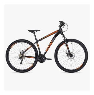 Bicicleta Aro 29 Ox Glide Preto/laranja Pedivela Shimano