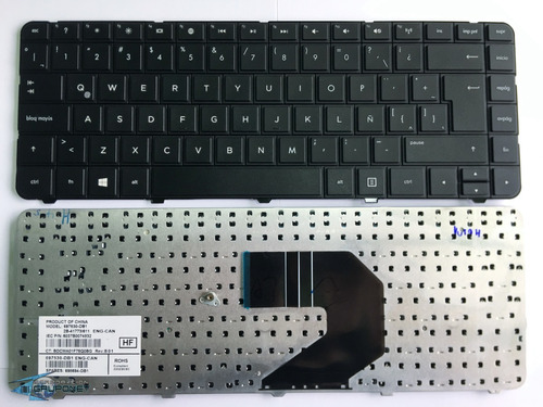 Teclado Laptop Hp G4-1000 Cq45-900 Cq43 Cq45-800 Oferton!!