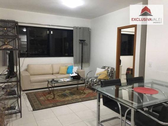 Flat Com 1 Dormitório Para Alugar, 47 M² Por R$ 2.000,00/mês - Jardim Aquarius - São José Dos Campos/sp - Fl0020