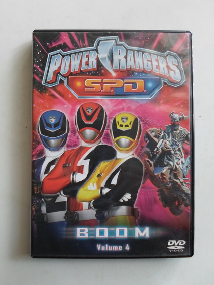 Power Rangers - S.p.d. - Boom - Volume 4 - Ótimo Estado!!!!