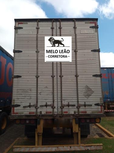 Imagem 1 de 7 de Carreta Baú Furgão São Pedro 30 Pallets - Ano 2009