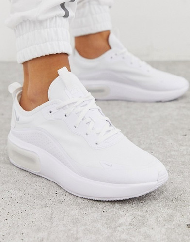 Azotado por el viento Restricción Pulido  Zapatillas Nike Air Max Dia Blancas Plataforma Mujer Origina | Mercado Libre