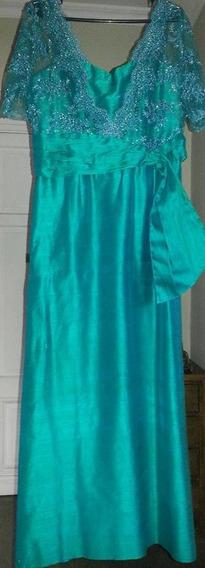 Vestido De Fiesta , Noche O Madrina !! Regalado