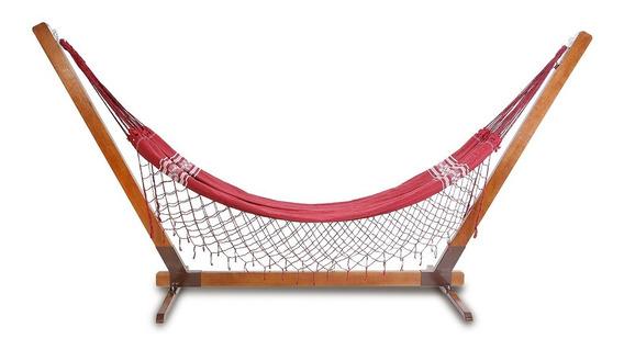 Suporte Para Rede De Descanso Madeira Maciça