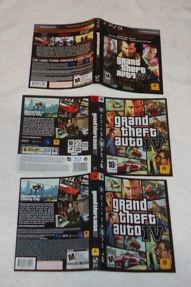 Encarte Capa De Jogos Ps3 Gta Fifa Pes * Leia
