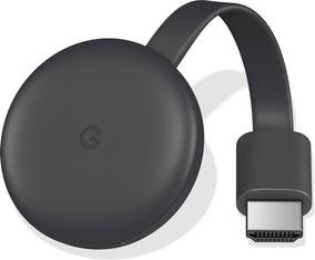 Novo Chromecast 3 Google Com Full Hd Wi-fi Hdmi