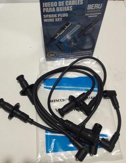 Juego Cables Bujía Vocho Originales Beru Fuel Injection 1600