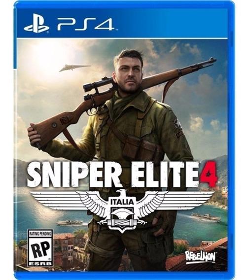 Sniper Elite 4 Ps4 Mídia Física Português
