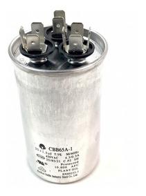 Capacitor Duplo 25 + 1,5uf 450v Para Split Novo E Garantia