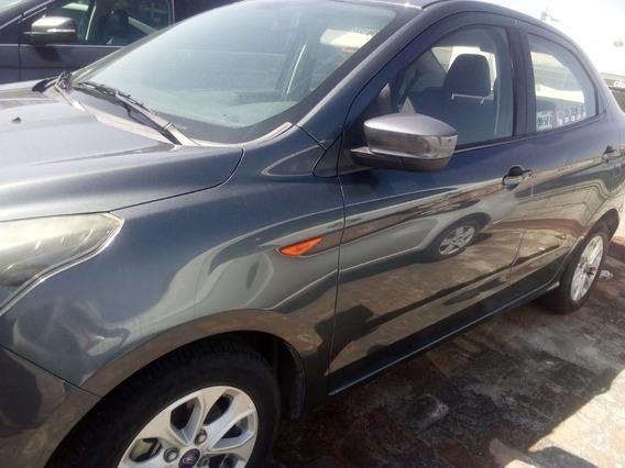 Ford Figo Tit 2017 Automático 40mil Kms Abs Opción A Crédito
