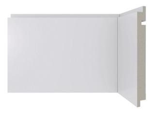 Rodapé Em Poliestireno Moderna 461 Branco 15x240cm