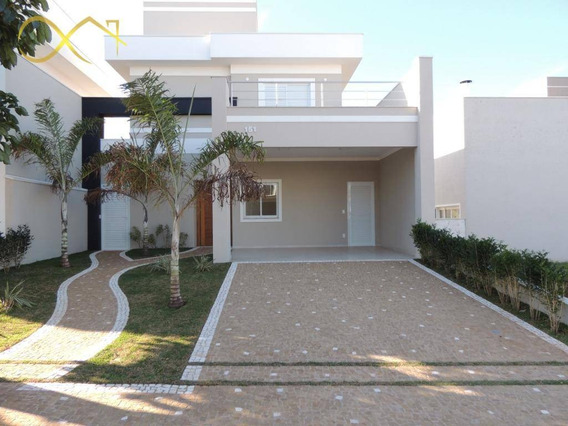 Casa Com 3 Dormitórios À Venda, 171 M² - Reserva Real - Paulínia/sp - Ca1726