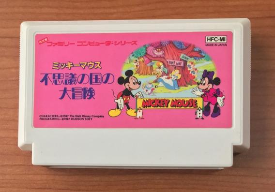 Mickey Mouse Fushigi No Kuni No Daibou- Famicom Nes 8 Bits