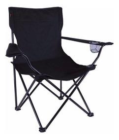 4 X Cadeira Dobrável Alvorada Camping Pesca + Bolsa Nautika