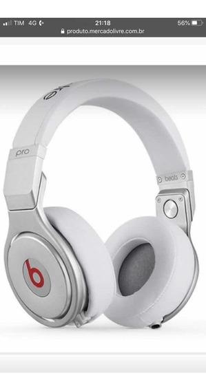 Phone Beats By Dr Dre Pro Branco