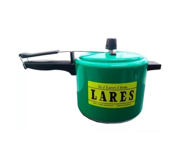 Panela De Pressão Capacidade Para 2,5 Litros Verde Lares